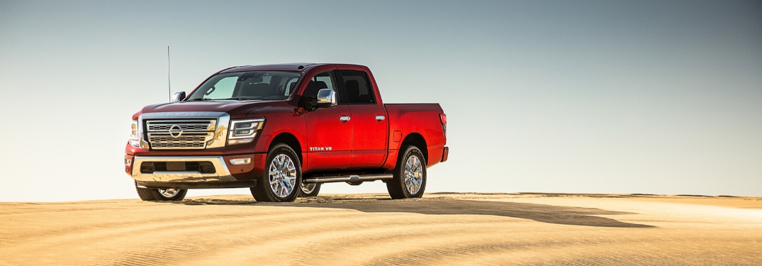 2020 Nissan TITAN SL on sand
