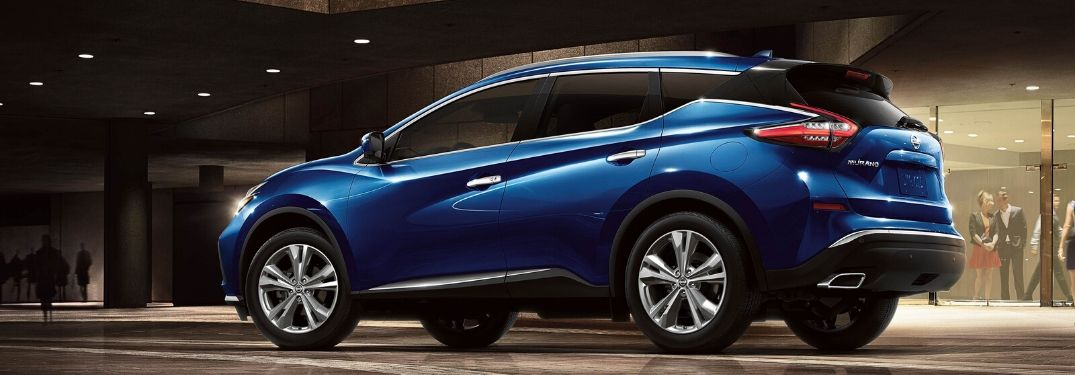 2020 Nissan Murano from driver's side