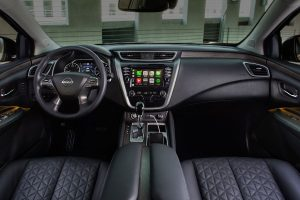 2020 Nissan Murano interior front seats and dash