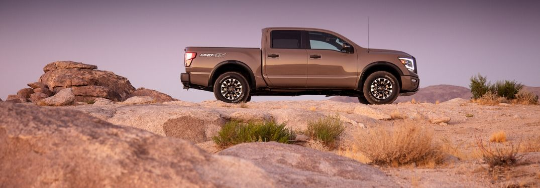 What technology comes on the 2020 Nissan TITAN?