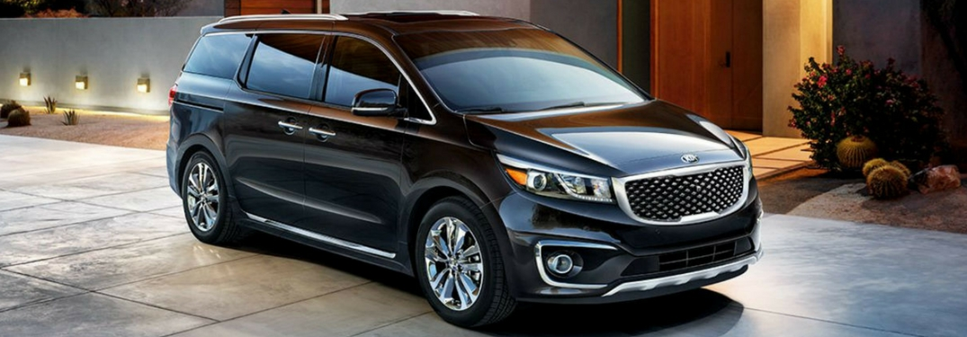 What Are The Exterior Color Options For The 2018 Kia Sedona