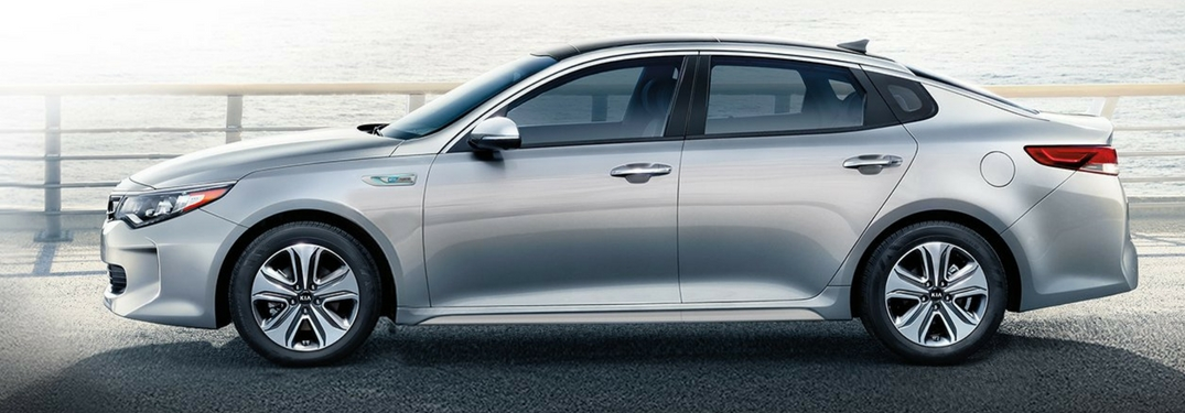 2018 kia optima parked by water
