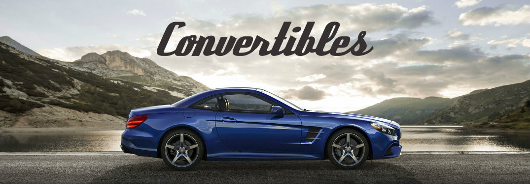 Which Mercedes-Benz vehicles are convertibles