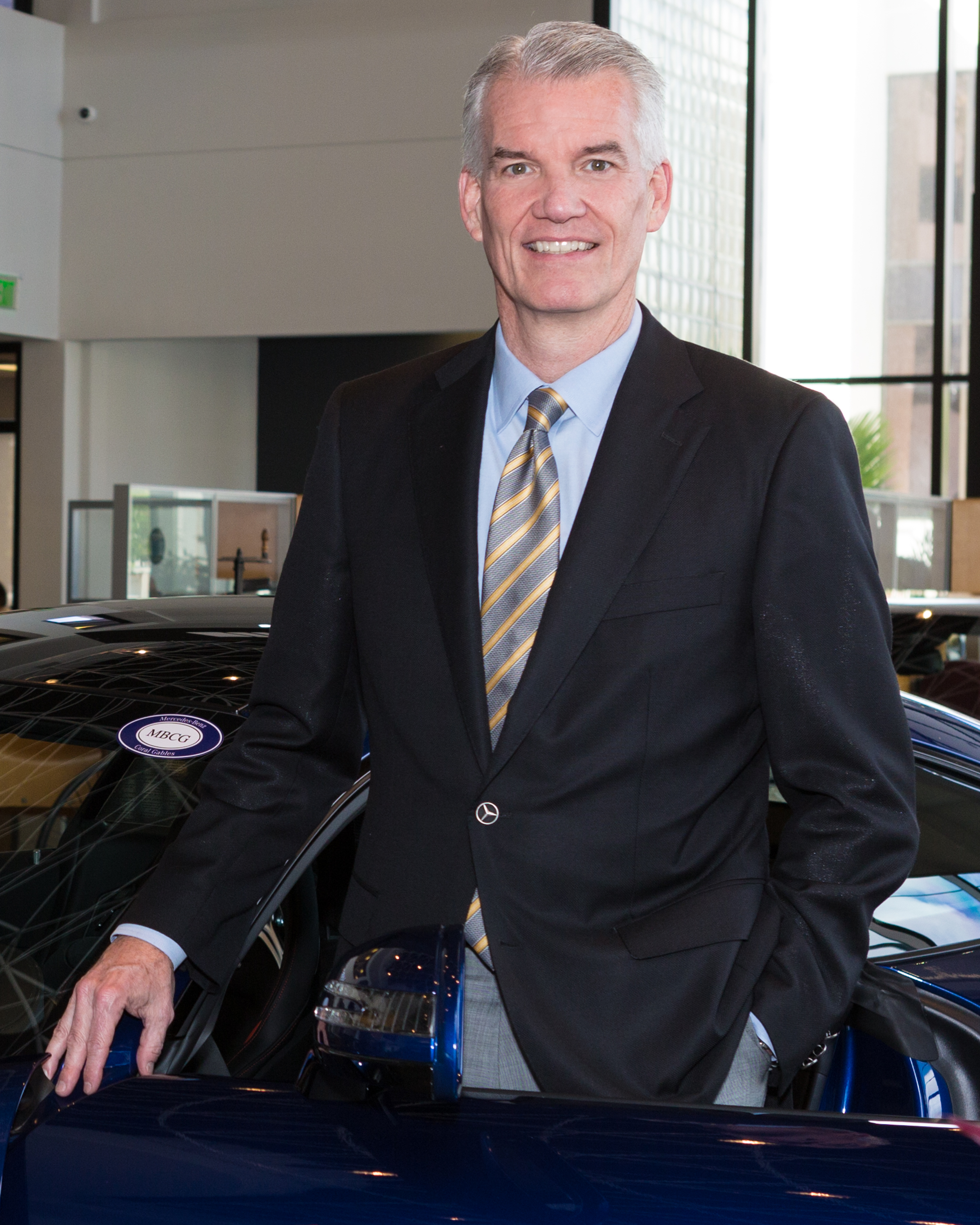 Bill Ussery Motors President, Greg Barnes, is interviewed by Automotive News