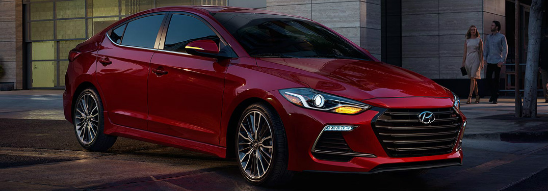 2017 Hyundai Elantra Color Options