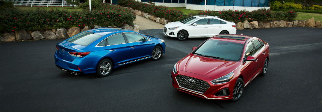 2018 hyundai sonata trims