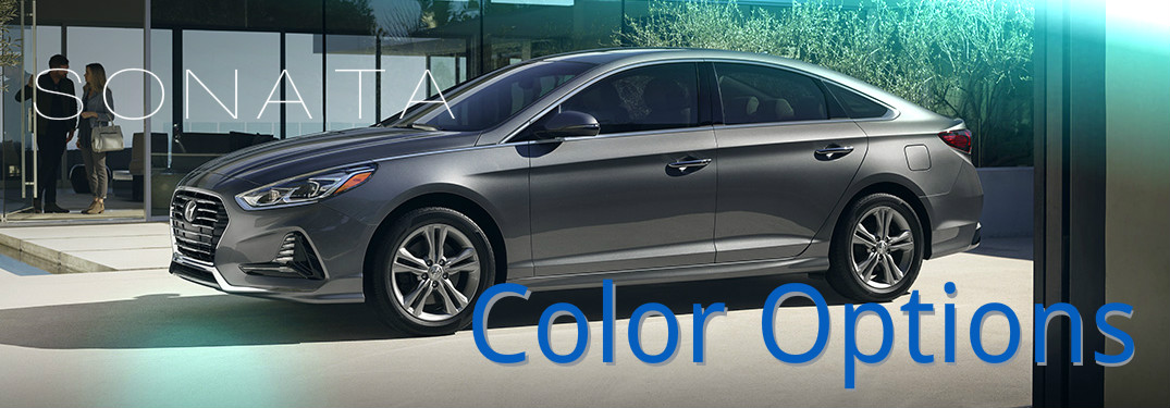 2018 sonata color options