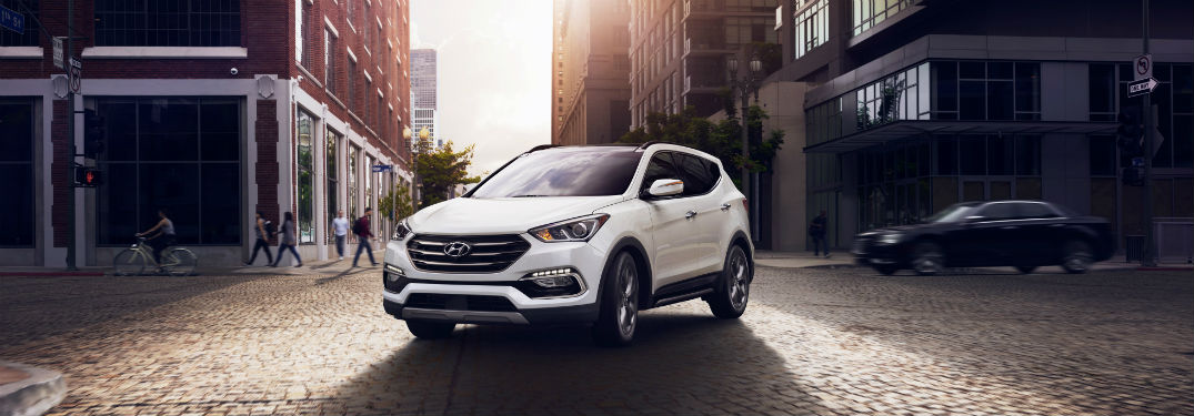 2018 Hyundai Santa Fe Sport Engine Options and Performance Specs