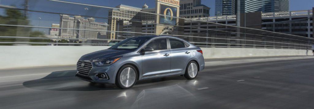 Hyundai Elantra Gas Mileage >> 2018 Hyundai Accent Power and Gas Mileage Ratings