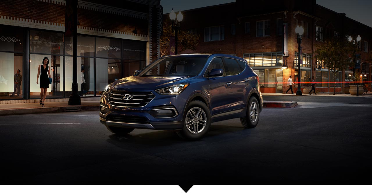 Hyundai Santa Fe Vs Honda Pilot >> Pictures of All 2018 Hyundai Santa Fe Sport Exterior Colors