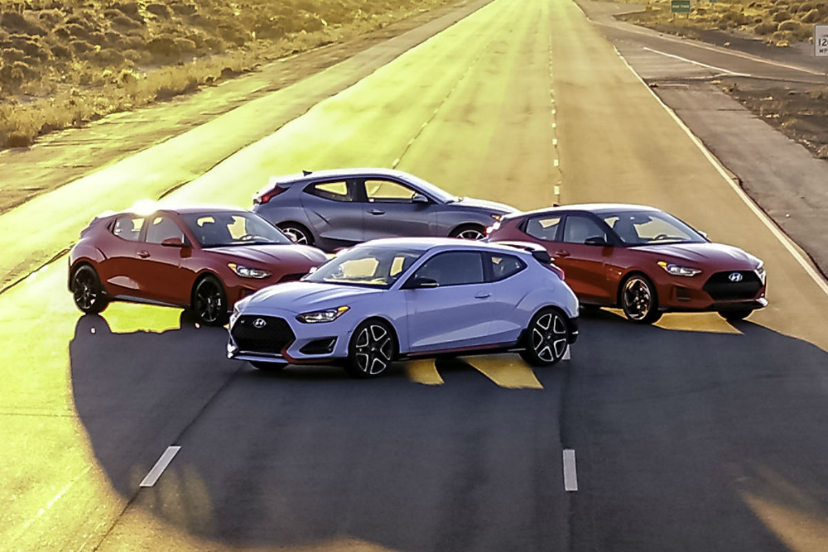 2019 Hyundai Veloster New Safety and Technology Features
