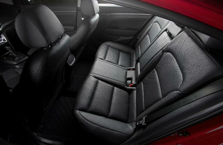 2018 Hyundai Elantra Rear Seats
