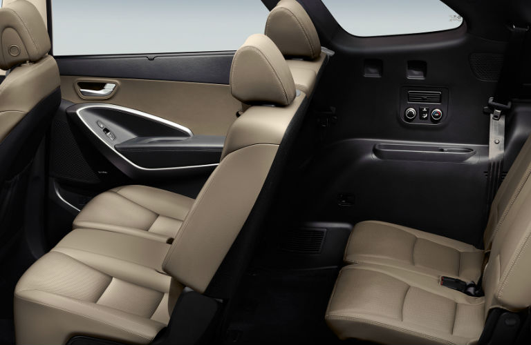2018 Hyundai Santa Fe Interior View Of Passenger Seating Area