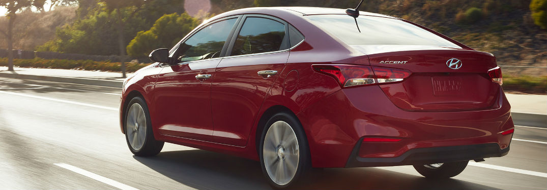 Three available trim levels in 2018 Hyundai Accent lineup offer long list of affordable features and options