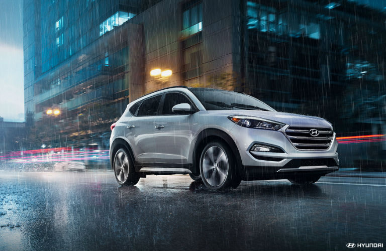 2018 Hyundai Tucson Towing Capacity