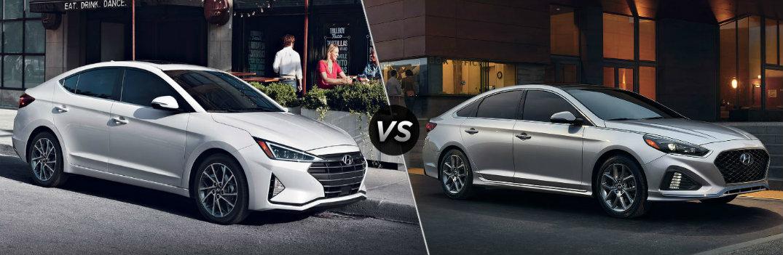 2019 Hyundai Elantra vs 2019 Hyundai Sonata