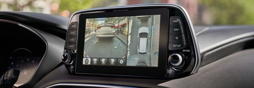 2019 Hyundai Santa Fe backup camera