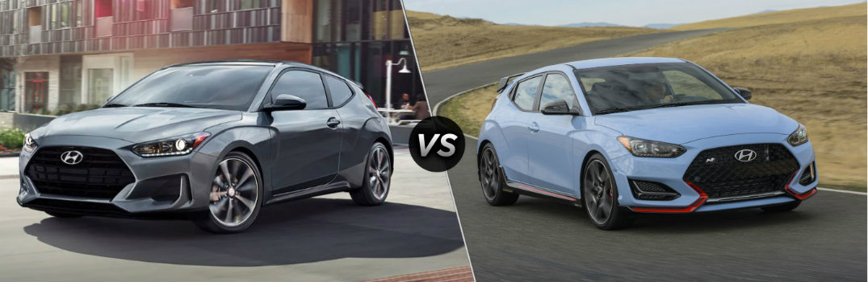 2019 Hyundai Veloster vs 2019 Hyundai Veloster N