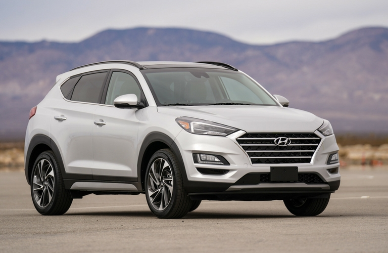 2019 Hyundai Tucson front fascia