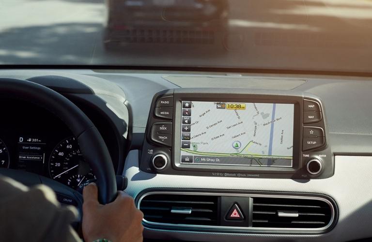 2019 Hyundai Kona 8-Inch Display