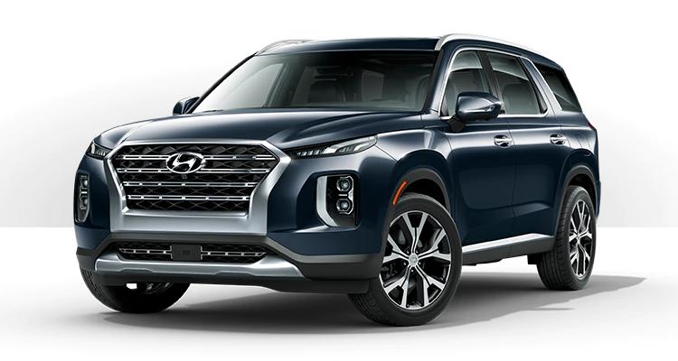 2020 Hyundai Palisade Exterior Color Options