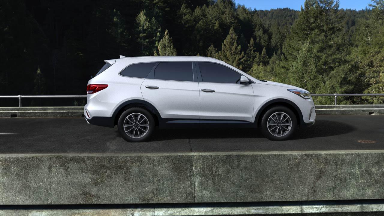 2019 Hyundai Santa Fe XL Monaco White