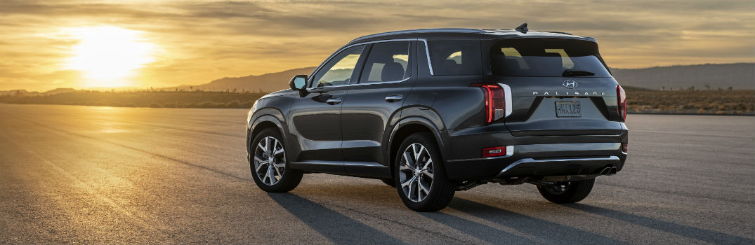 Pictures of the 2020 Hyundai Palisade