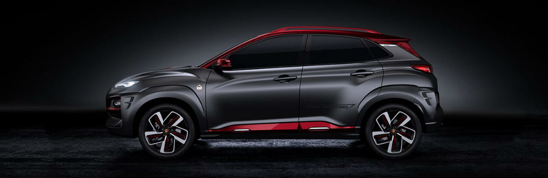2019 Hyundai Kona Iron Man Edition Exterior Driver Side Profile