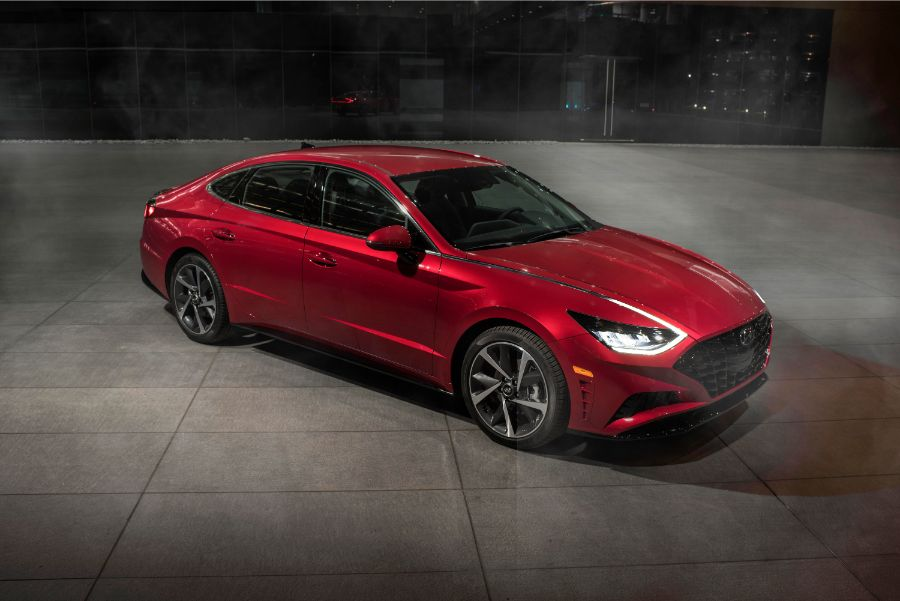 2020 Hyundai Sonata Photo Gallery