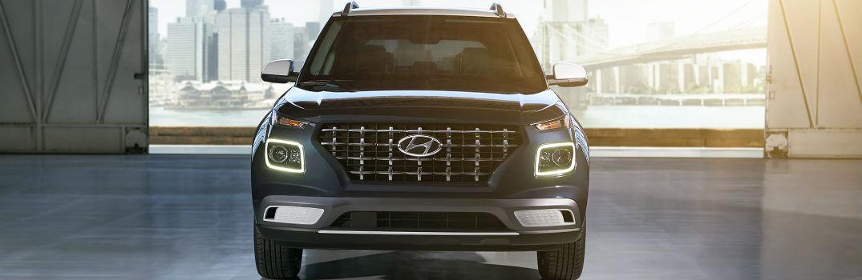 2020 Hyundai Venue Denim Exterior Front Fascia