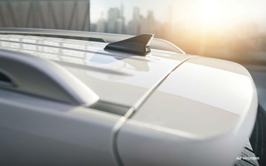 2020 Hyundai Venue Denim Exterior Roof