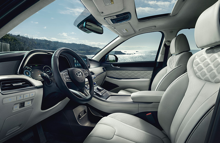 2020 Hyundai Palisade interior front seats
