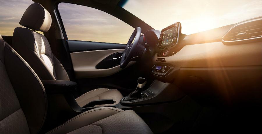 2020 Hyundai Elantra GT Interior Cabin Front Seating & Dashboard