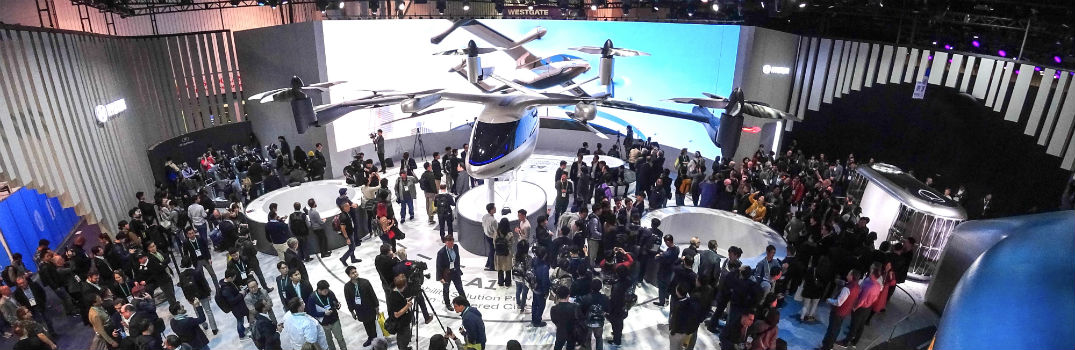 Hyundai Motors Display at 2020 CES Including Personal Air Vehicle