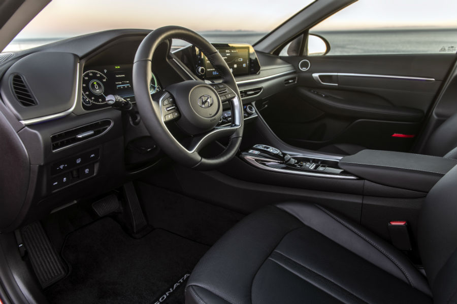 2020 Hyundai Sonata Hybrid Interior Cabin Dashboard & Front Seating