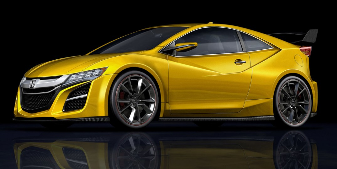 New Honda CR-Z with Type-R engine