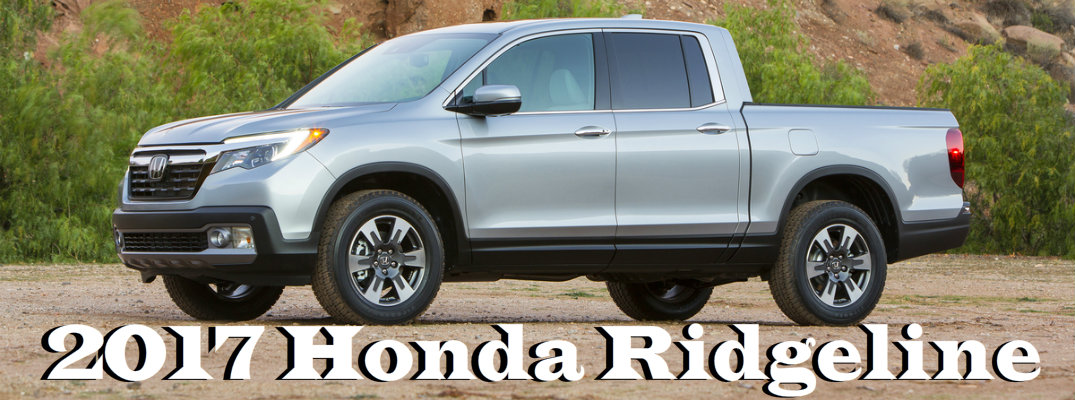2017 Honda Ridgeline Changes and Features