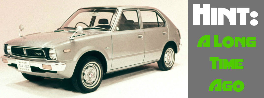 What Year was the First Honda Civic Hatchback Produced