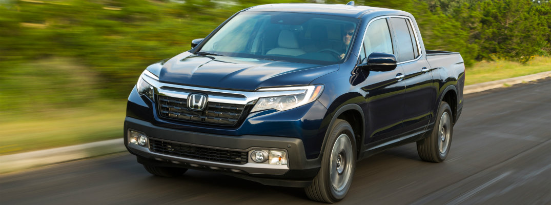 2017 Honda Ridgeline Fuel Economy and Specs