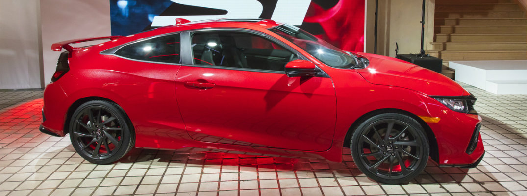 2017 Honda Civic Si Prototype Debut and Information