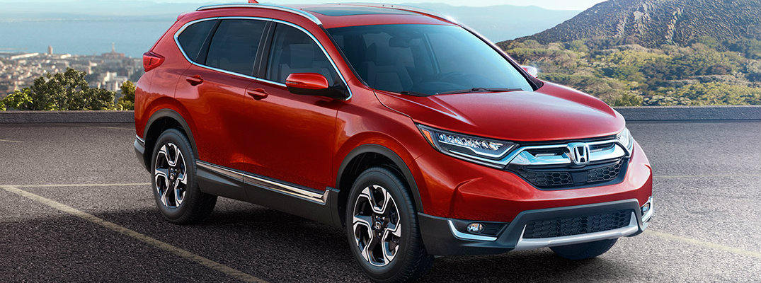 How much can you store in the 2017 Honda CR-V?