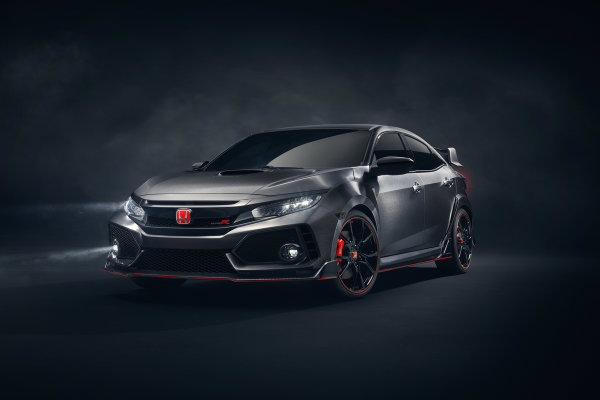 2018 honda civic type r forward facing