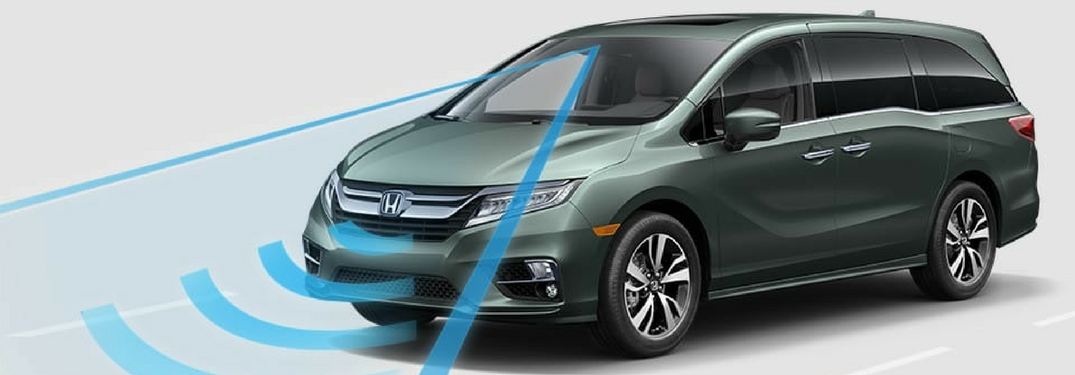 2018 honda odyssey with honda sensing technology