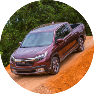2019 honda ridgeline driving off-road