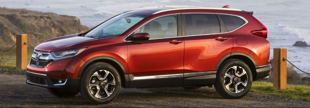 How Many Exterior Finish Options Does the New 2018 Honda CR-V Offer?
