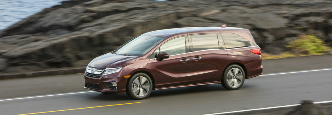 2019 honda odyssey driving side view