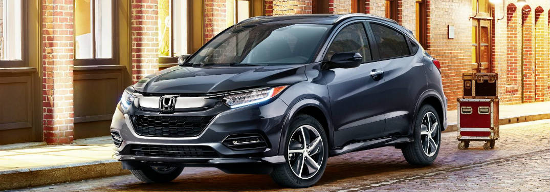 2019 honda hr-v full view parked