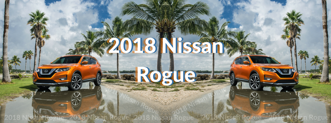 2018 Nissan Rogue Orange Exterior Front View Mirrored