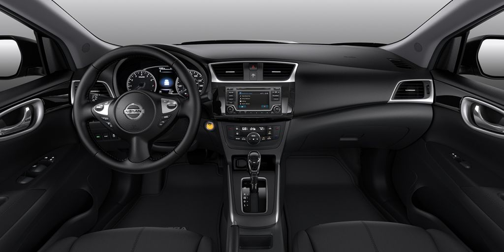 2018 Nissan Sentra Charcoal Premium Cloth Interior