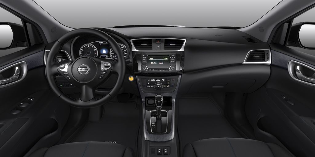 2018 Nissan Sentra Charcoal Premium Sport Cloth Interior